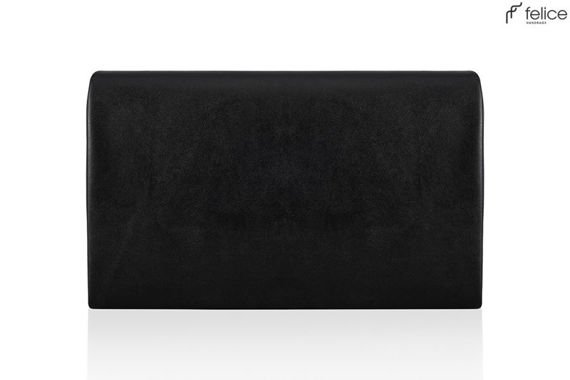 Czarna damska kopertówka