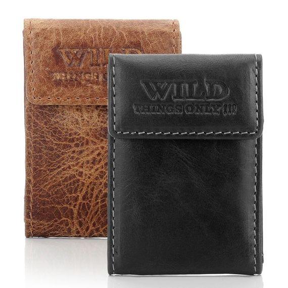 Skórzany portfel MINI